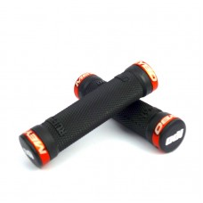 Odi Meybo Ruffian No Flange Lock on Grip Orange 130 Mm