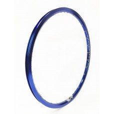 Sd Rim Double Wall With Eyelets Blue 20X1.1/8 - 28H Front